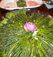 Fresh Spring Asparagus with Balsamic Reduction