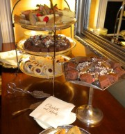 Sweets Displayed on the Sideboard
